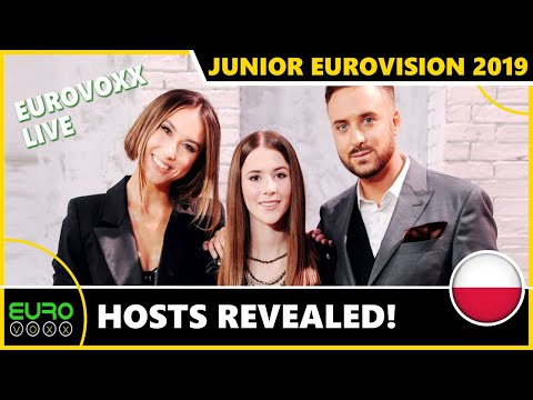JUNIOR EUROVISION 2019: THE HOSTS HAVE BEEN REVEALED! EUROVOXX LIVE