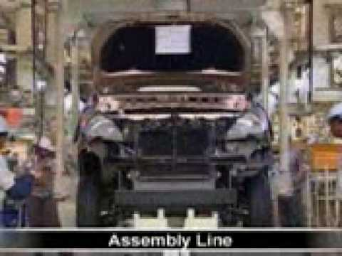 Toyota Innova making in factory