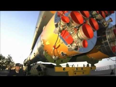 Soyuz Launch and Docking to the International Space Station Oct 25 2012