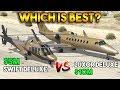 GTA 5 ONLINE : LUXOR DELUXE vs SWIFT DELUXE (WHICH IS BEST?)