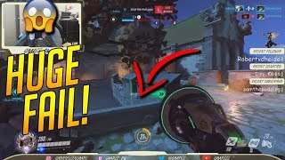 Huge Fail! - Overwatch Funny & Epic Moments 300 - Highlights Montage