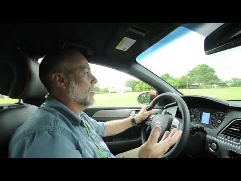 Take A Test Drive In The 2015 Hyundai Sonata video