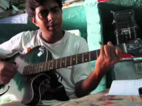 Kaun Hai Jo Sapno Me Aaya On Guitar video