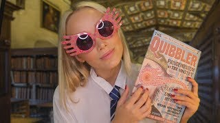 ASMR Studying With Luna Lovegood (Care Of Magical Creatures) Harry Potter Roleplay | GwenGwiz