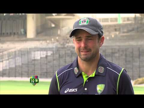 Ed Cowan in India - Feb 10th