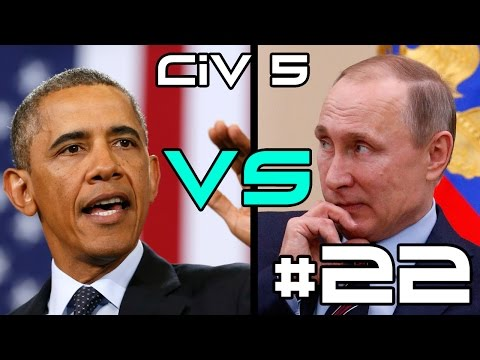 Civ 5 Russia vs The World - Political Bullshit! #22