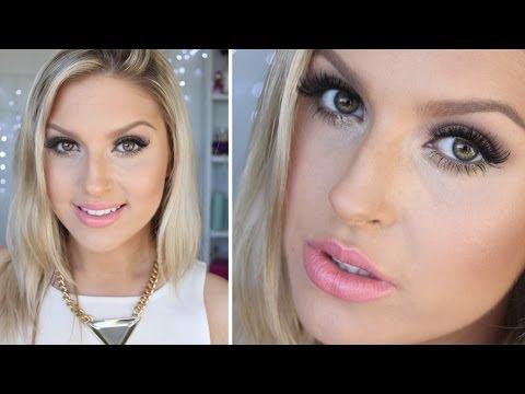 ELF Cosmetics Tutorial ♡ Bronzed Goddess Shimmering Makeup