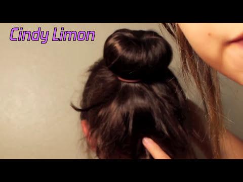 Peinados ideas de Chongos con calcetin muy facil