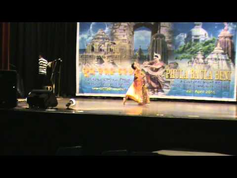 Radha Nachiba - Sydney Oriya Cultural Program (phula Baula Beni) By Orioz On 22nd April 2011 video
