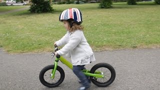 How to teach your child to ride a balance bike quickly and simply