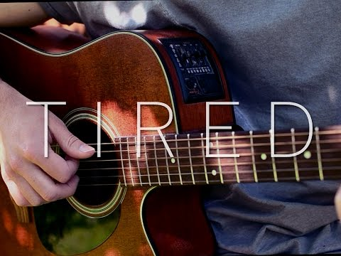(Alan Walker ft. Gavin James) Tired - Fingerstyle Guitar Cover (FREE TABS)