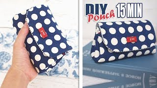 DIY MULTI POUCH 15 MIN AWESOME IDEA // Cute Pouch Bag Design Tutorial Easy & Fast