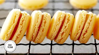 How To Make DELICIOUS French Macarons