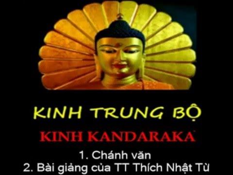 Kinh Trung Bộ - Kinh Kandaraka. MP3