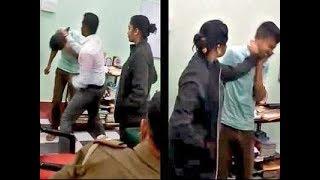 Viral Video ; இளைஞனை சரமாரியாக விளாசிய Collector ;  வேடிக்கை பார்த்த Police | West Bengal |