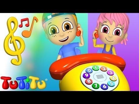Zabawki TuTiTu Piosenki Po Angielsku Dla Dzieci | Telefon | Nauka Angielskiego Dla Dzieci