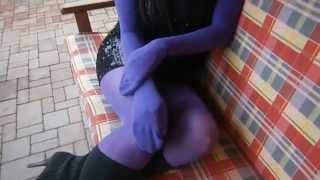 How do you make pantyhose encasement