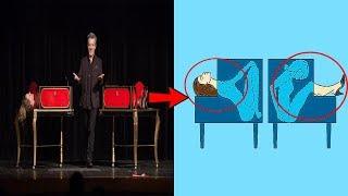 देखिये, जादूगर आपको कैसे बेवकूफ / बुरबक बनाते हैं |  Science and Tricks Behind Magic Explained