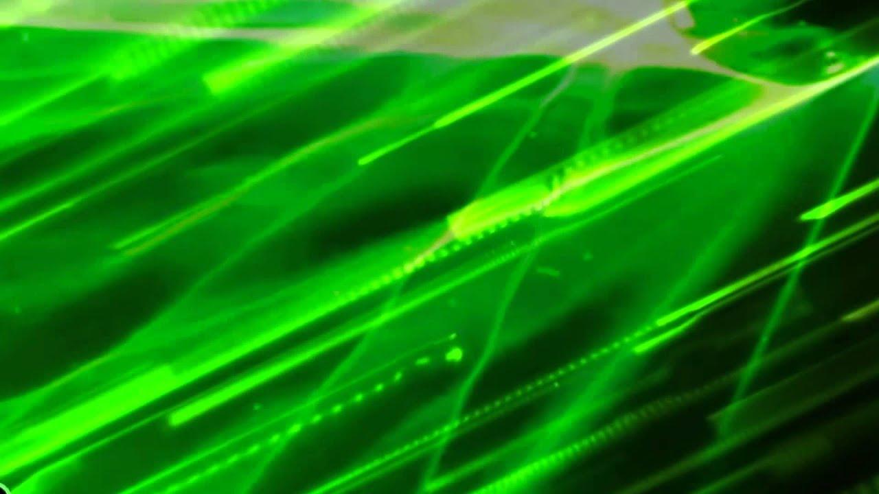 Green Light Effects Background Light Green Wind Effects