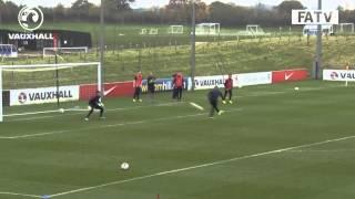 Unbelievable Ravel Morrison goal! England U21s