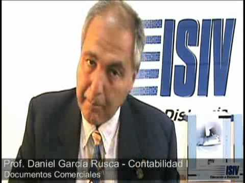 13 - Documentos Comerciales - Contabilidad I - Instituto ISIV