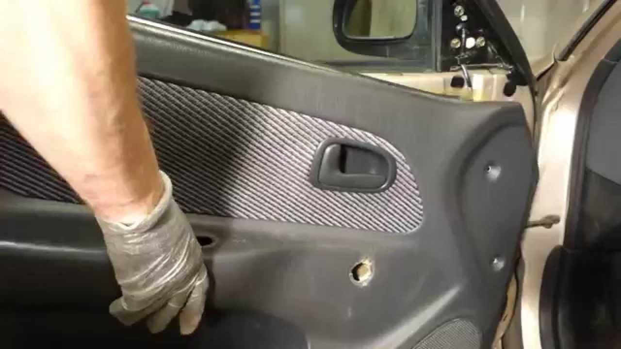 Corolla Door Trim How to Replace Door Trim Panel