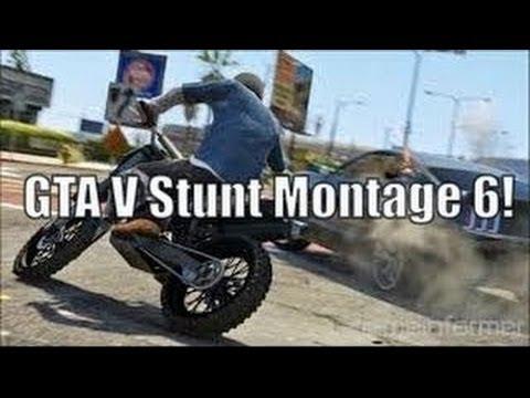 GTA 5 Stunt Montage 5 by MegaSilverStudios!