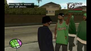 GTA San Andreas - Up, Up and Away! (Heist Mission #5) - Method #3 - the Homies - Mission Help