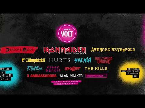 VOLT Fesztivál 2018 - Koncert videók