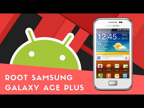 Root Samsung galaxy ace plus + cwm recovery