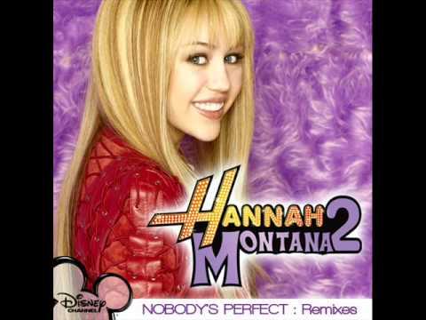 Hannah montana nobody 39 s perfect hq youtube - Prenom hannah ...