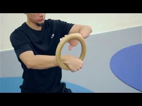 False Grip Training For Muscle Ups Body Weight Skills How to do the False Grip on The Rings Gymnasti Image 1