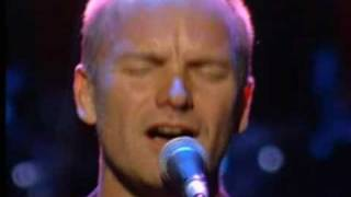 Sting -- Message in a Bottle Live