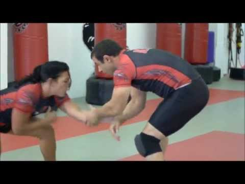 Brigitte Narcise with Coach Murat Keshtov Flow Training Grappling Techniques Image 1
