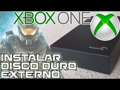 Instalar un disco duro externo en XBOX One