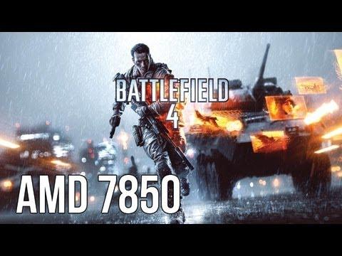 Battlefield 4 Beta AMD Radeon HD 7850 Ultra Settings 1080p