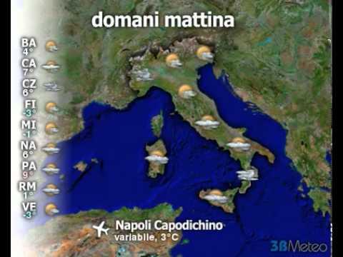 Meteo ITALIA del 04/01/2011