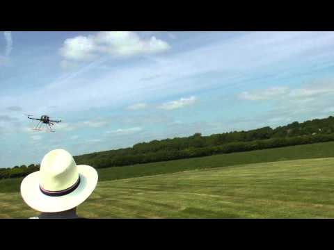 Turnigy HAL Quadcopter Test flight