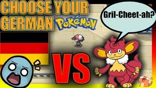 We pick RANDOM Pokemon In Another Language. Then we FIGHT!