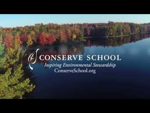 History Class at Conserve School: Dugout Canoe