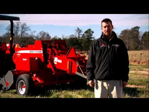 Massey Ferguson 1800 Series Small Square Balers Walk Around