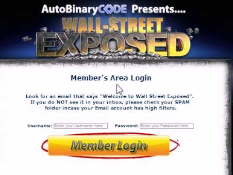 Auto Binary Code / Wall Street Exposed Review!