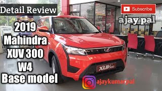MAHINDRA XUV 300 W4 DETAIL REVIEW | MILAGE | ONROAD PRICE