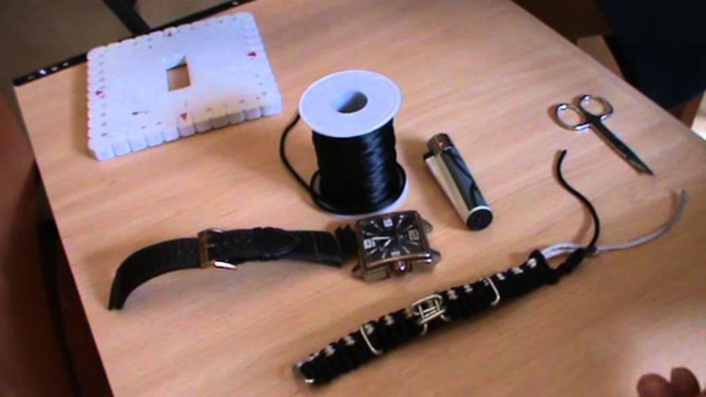 Como hacer una pulsera para reloj macrame tecnica - Relojes rusticos de pared ...