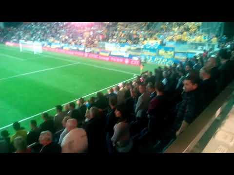 На матче Чехия – Украина – аншлаг
