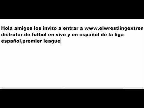 Donde ver Futbol en vivo en español por internet HD gratis