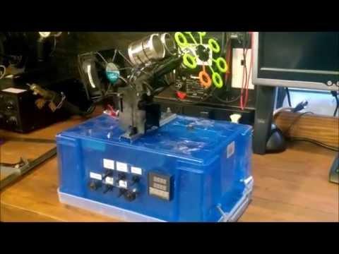 build your own foam machine