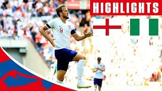 England 2-1 Nigeria | Kane Cahill Score, Iwobi With The Consolation | Official Highlights