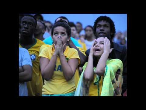 Brazilian Football Fan Cry and Curse After Germany Defeat Brazil World Cup Finals