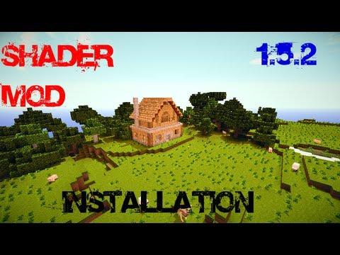 Minecraft 1.5.2 Shader Mod Installation Seus V10/Rc7 [DOWNLOAD]
